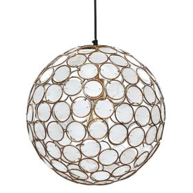 Seashell Ball pendant lamp
