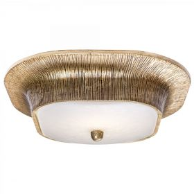 Потолочный светильник Utopia Round Sconce Gold designed by Kelly Wearstler