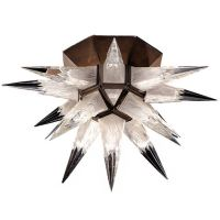 CHARLES J. WEINSTEIN Starburst Rare ceiling light
