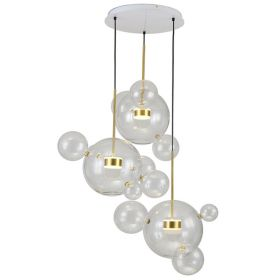 Люстра Bolle Circular Chandelier 14 BUBBLE Giopato & Coombes