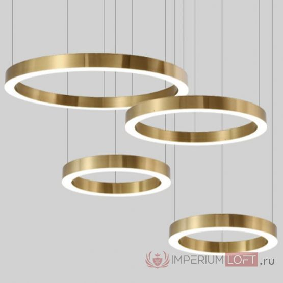 Люстра Light Ring Horizontal от ImperiumLOFT