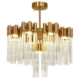 Люстра Contemporary chandelier crystal brass 65