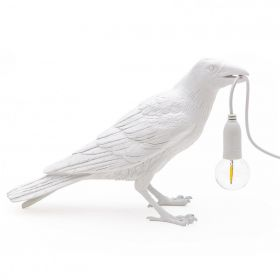 Настольная лампа Seletti Bird Lamp White Waiting