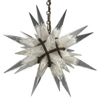C. J. Weinstein Rock Сrystal Star Chandelier