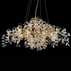 Люстра FAIRYTREE Chandelier Gold 9