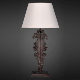 Настольная лампа RH Acanthus Leaf Artifact Table Lamp
