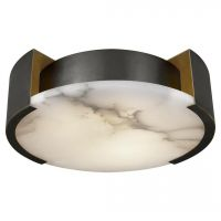 Потолочный светильник Melange Flush Mount Lamp black designed by Kelly Wearstler