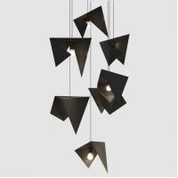 Люстра Chandelier BIRD 7 black LGH0731