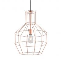 Светильник Loft Wire Cage Copper