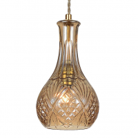 Подвесной светильник lee broom DECANTERLIGHT pendant III Amber