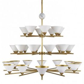 Люстра Cleo Three-tier Chandelier designed by Kelly Wearstler