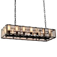 Люстра Harlow Crystal SQUARE Chandelier 14
