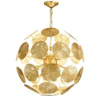 Люстра GLOBAL VIEWS LILY PAD Chandelier