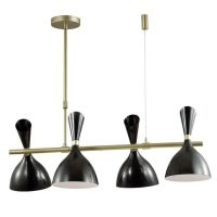 Люстра Duke Chandelier line 4 black