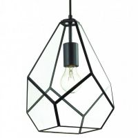 Люстра Geometry Glass Light Pendant Transparent