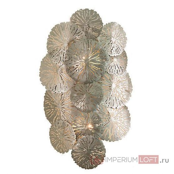 Бра Lily Pad Wall Sconce Nickel от ImperiumLoft