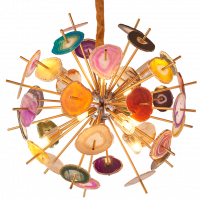 Люстра Agate Burst Chandelier Multicolor