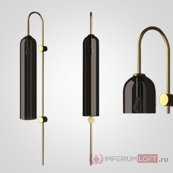 Бра ARTICOL float Wall Sconce Black от ImperiumLoft
