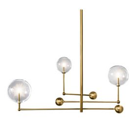 Подвесной светильник ImperiumLoft Globe Mobile 3 brass KG0835P-3 brass
