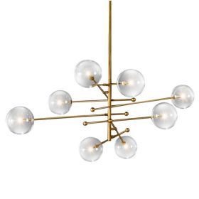 Подвесной светильник ImperiumLoft Globe Mobile 8 brass KG0835P-8 brass