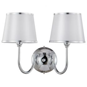 Бра Crystal Lux Favor FAVOR AP2 CHROME от ImperiumLOFT
