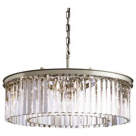 Подвесной светильник DeLight Collection Odeon KR0387P-10B chrome/clear