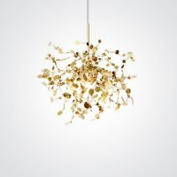 Люстра Tezani Argent Suspension Pendant lamp 40 Gold